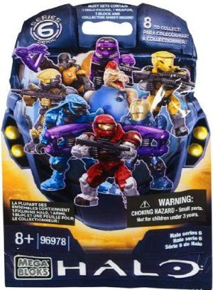 Mega Bloks Halo Series 6 Mystery Pack Micro Action Mini Figure By