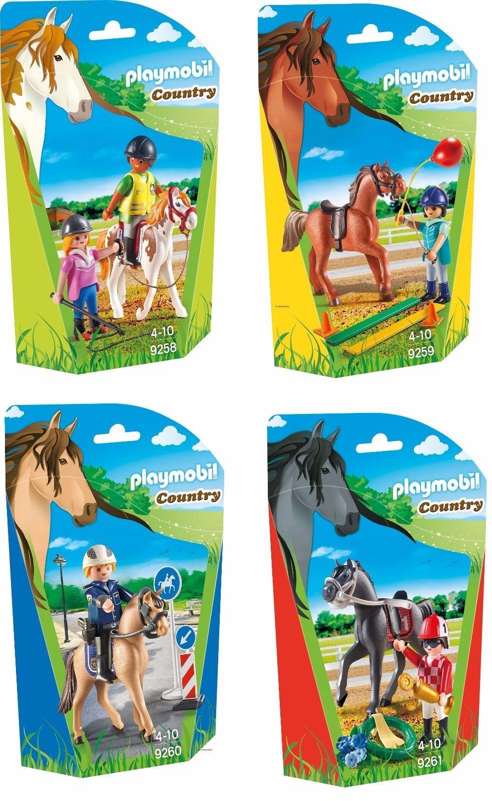 Details Zu Playmobil Country Berufe Rund Ums Pferd Auswahl
