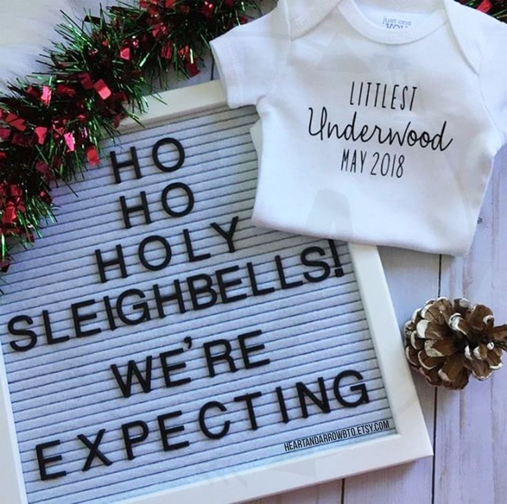 HeartandArrowBtq Baby Announcement Bodysuit / Pregnancy Announcement / Surprise