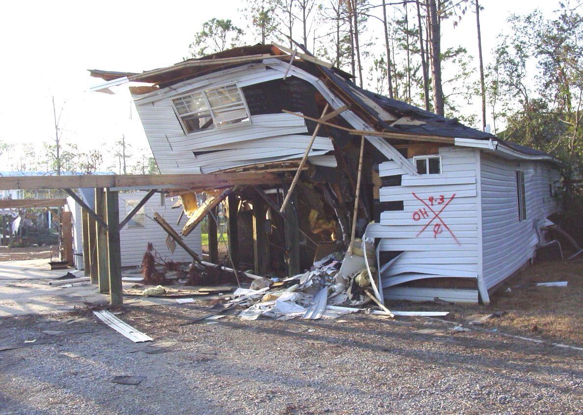 After Hurricane Katrina X Marks The Spot Hurricane Katrina House Styles Flood