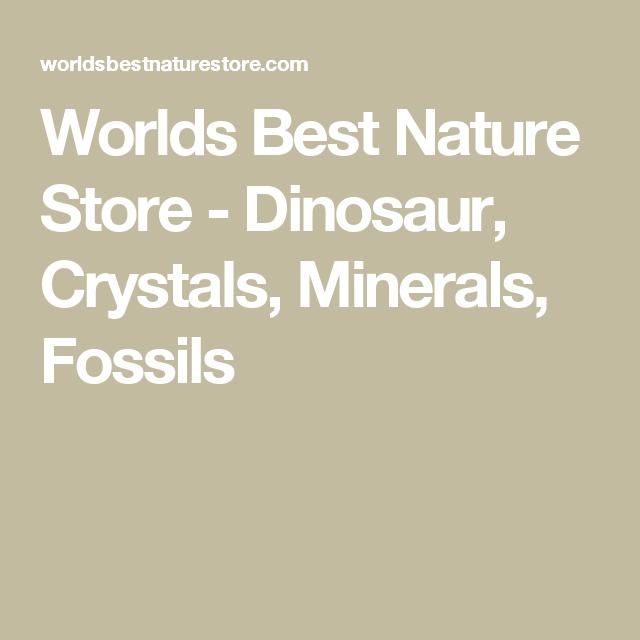 Dinosaur, Crystals, Minerals