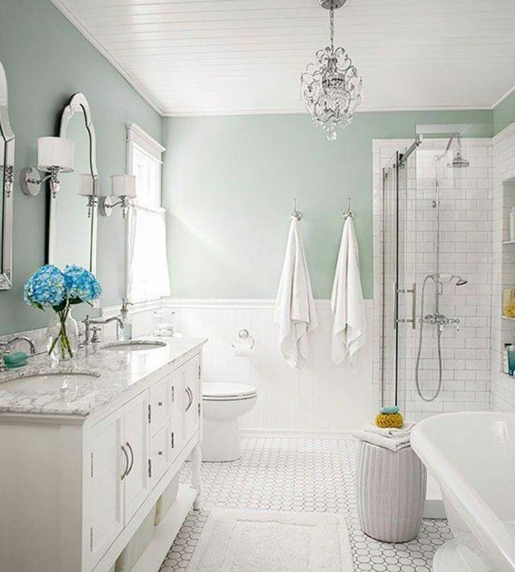 Fantastic Feng Shui Bathroom Bright Mint Wall Color Lazienka Best Image Libraries Weasiibadanjobscom
