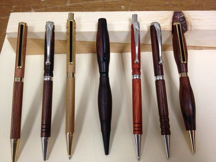 Pin by A to G EPC on Hand Turned Wooden Pens | Pinterest