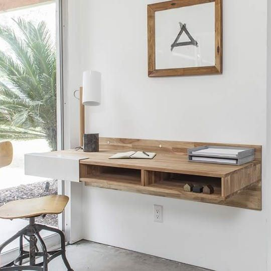 Wall Mounted Desk At Lax Series Wall Mounted Desk Wall Desk Desks For Small Spaces