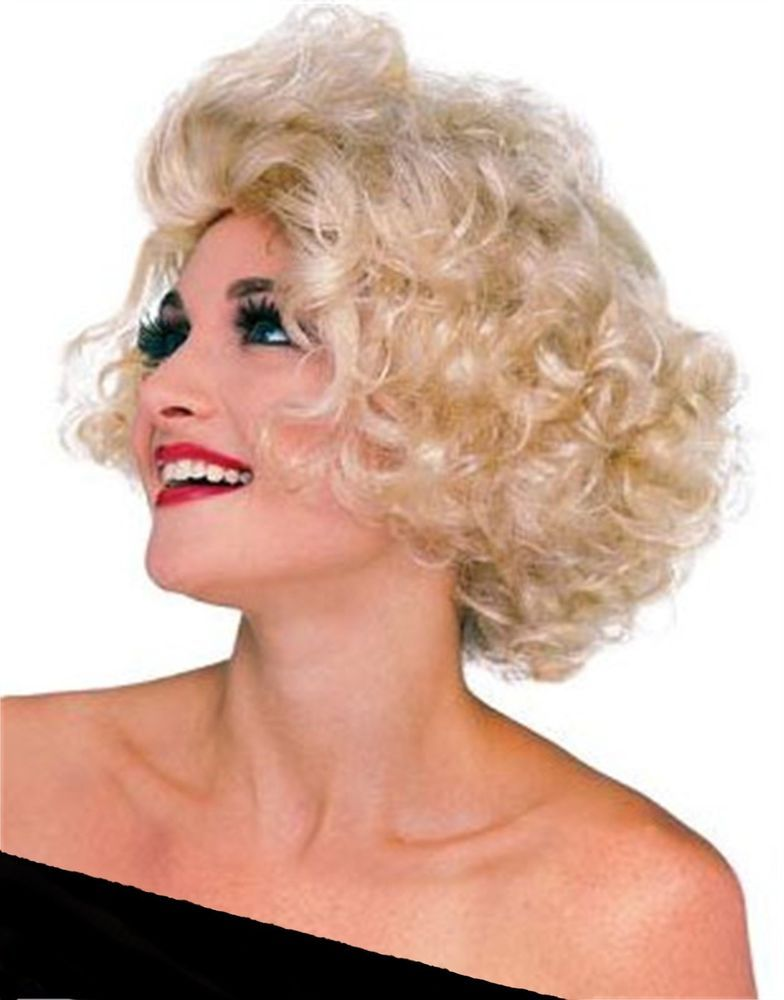 Rubies Hollywood Starlet Wig adult short blonde Marilyn Monroe celebrity  hair TV  Rubies 3302449a6a2c