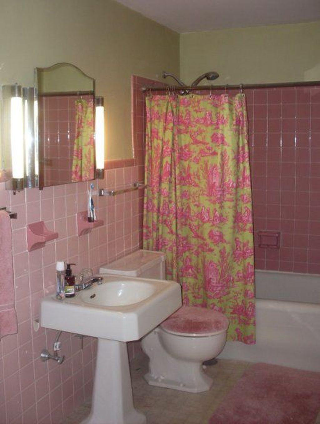 31 Comfy Pink Brown Color Combination For Bathroom Pink Bathroom
