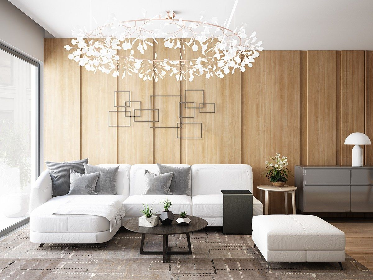 A Tour Of 4 Homes With Comfortable Wood Wall Treatments