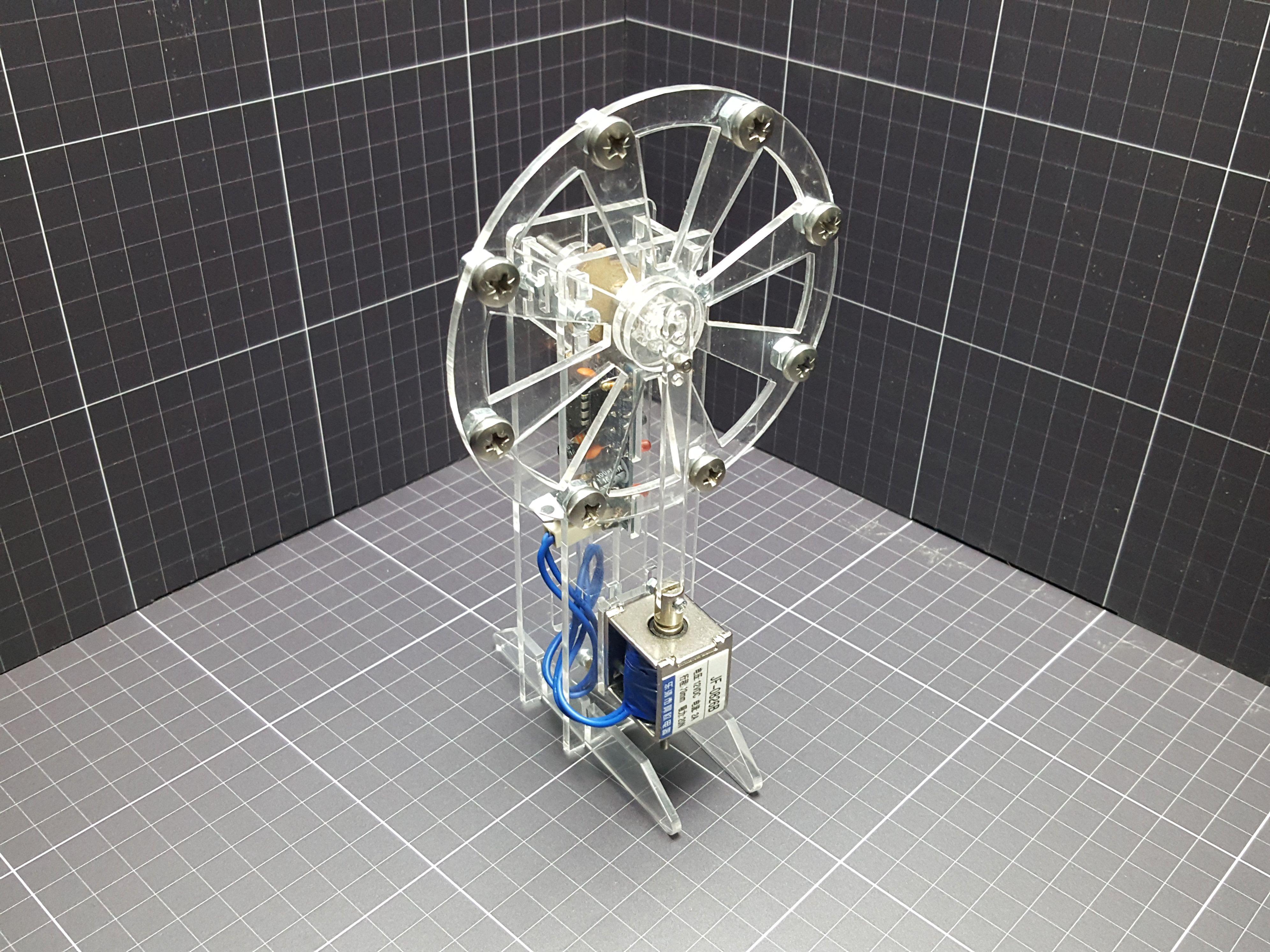 Solenoid Engine Single V2 Standalone Diy electronics