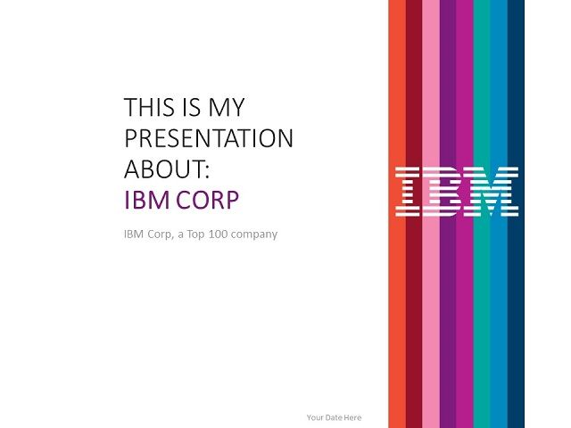 Ibm powerpoint template top 100 global companies templates ibm powerpoint template toneelgroepblik Choice Image