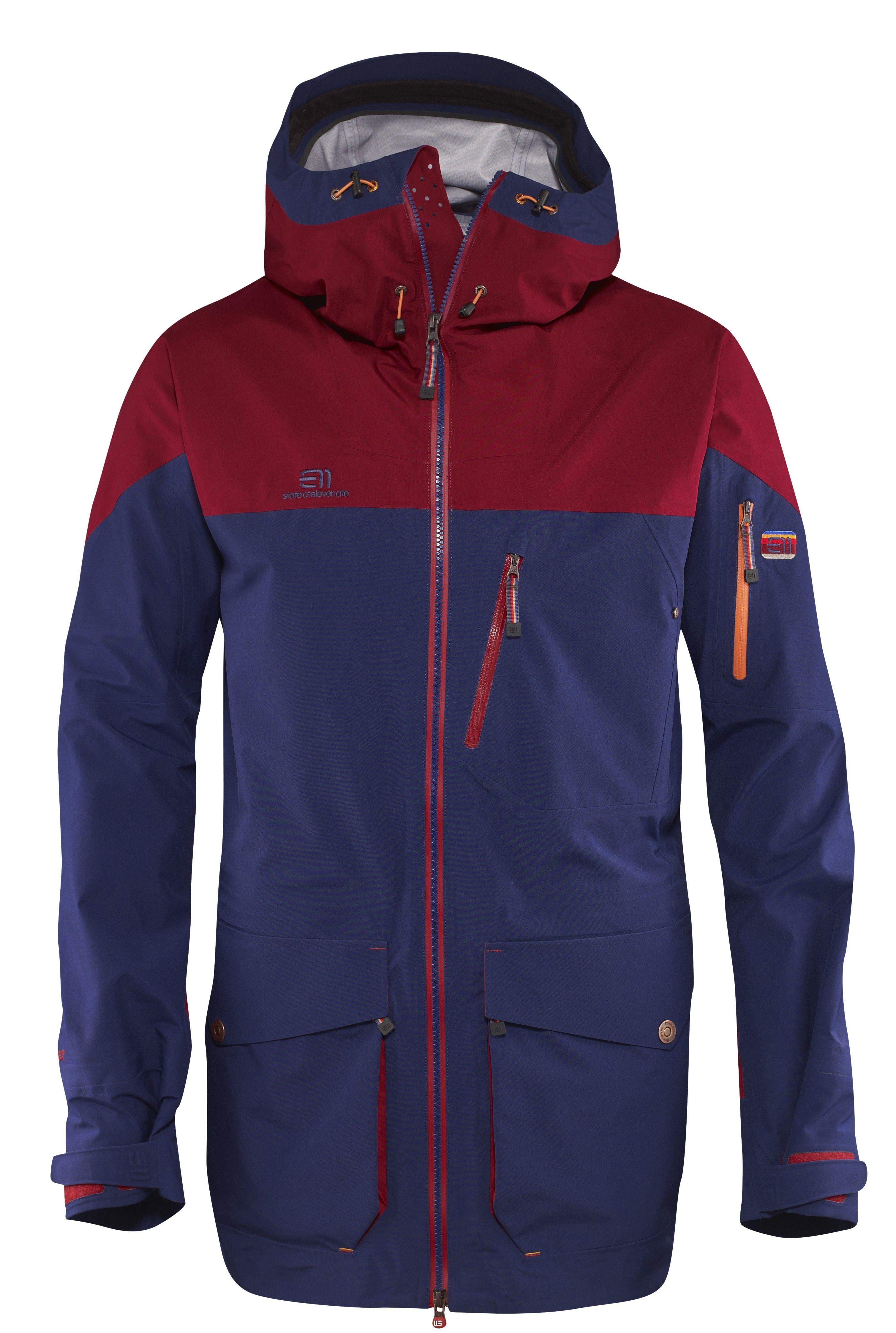 21e51319 Elevenate M Backside Jacket Blueprint - Skijakker - Jakker - Herre -  Produkter