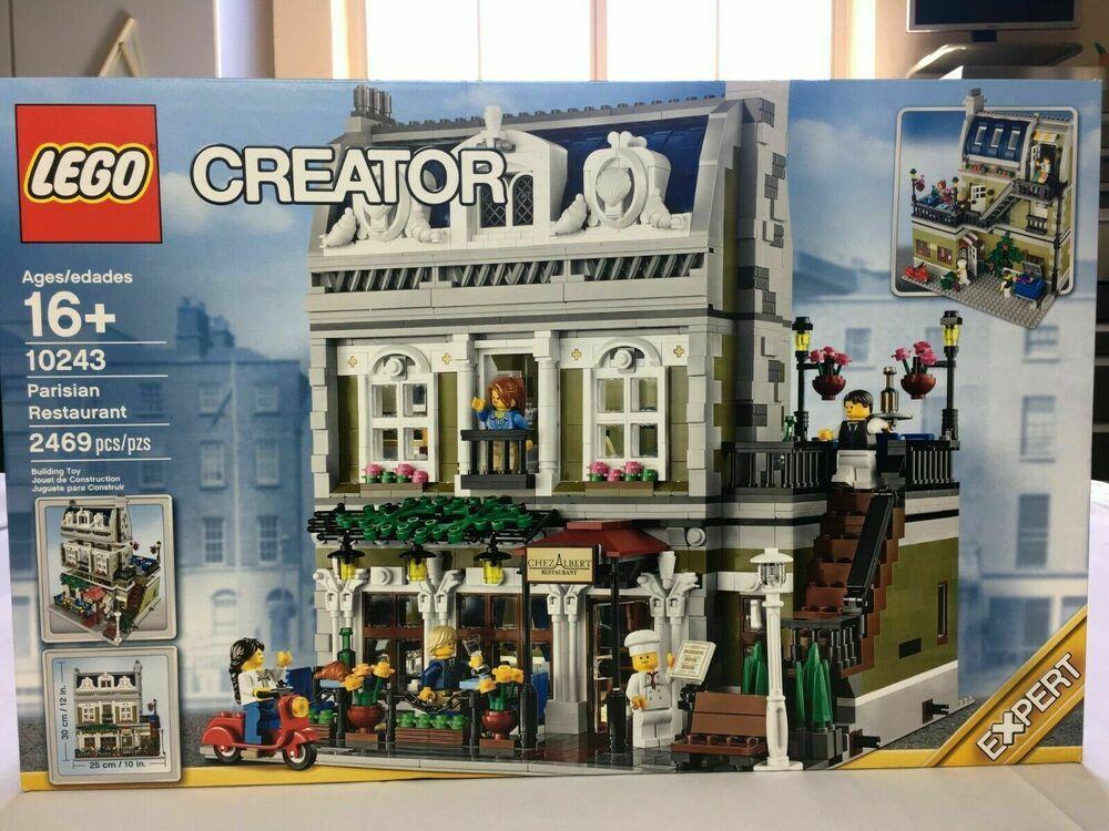 NEW SEALED LEGO CREATOR MODULAR EXPERT BUILDING 10243 PARISIAN RESTAURANT