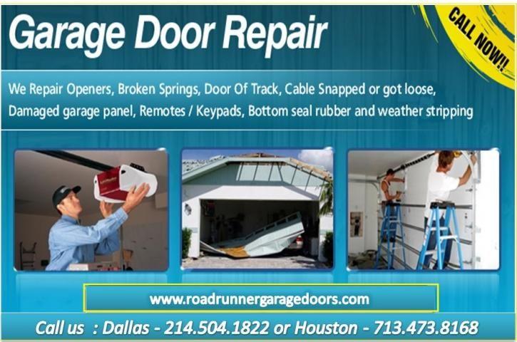 Garage Door Opener Repair Service Houston, TX Call DFW (214504