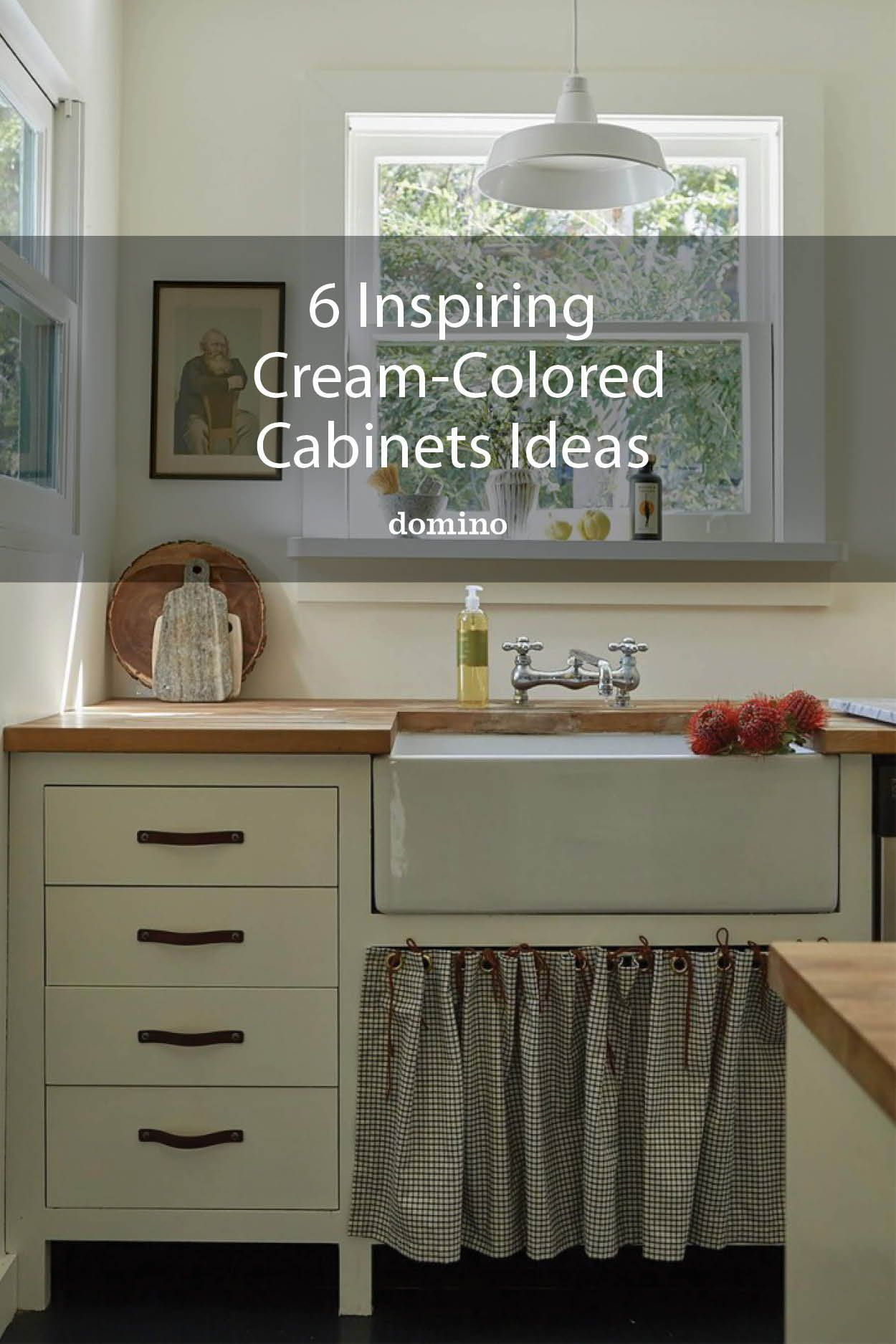 6 Cream Kitchen Cabinets To Help You Think Beyond All White In 2020 Cream Kitchen Cabinets Kitchen Cabinet Colors Kitchen Cabinets