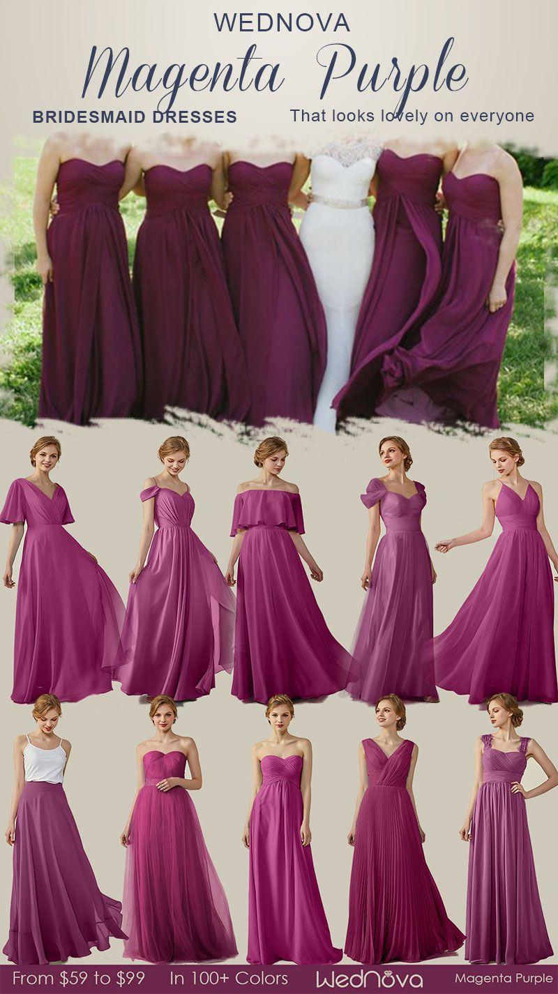 03a3041cad95 Elegant off shoulder magenta purple bridesmaid dresses with illusion neck  detail cup cap dress cheap formal  bridesmaiddresses elegant off shoulder  dress ...