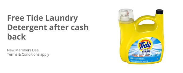 Free Tide Laundry Detergent After Cash Back Luv Saving Money