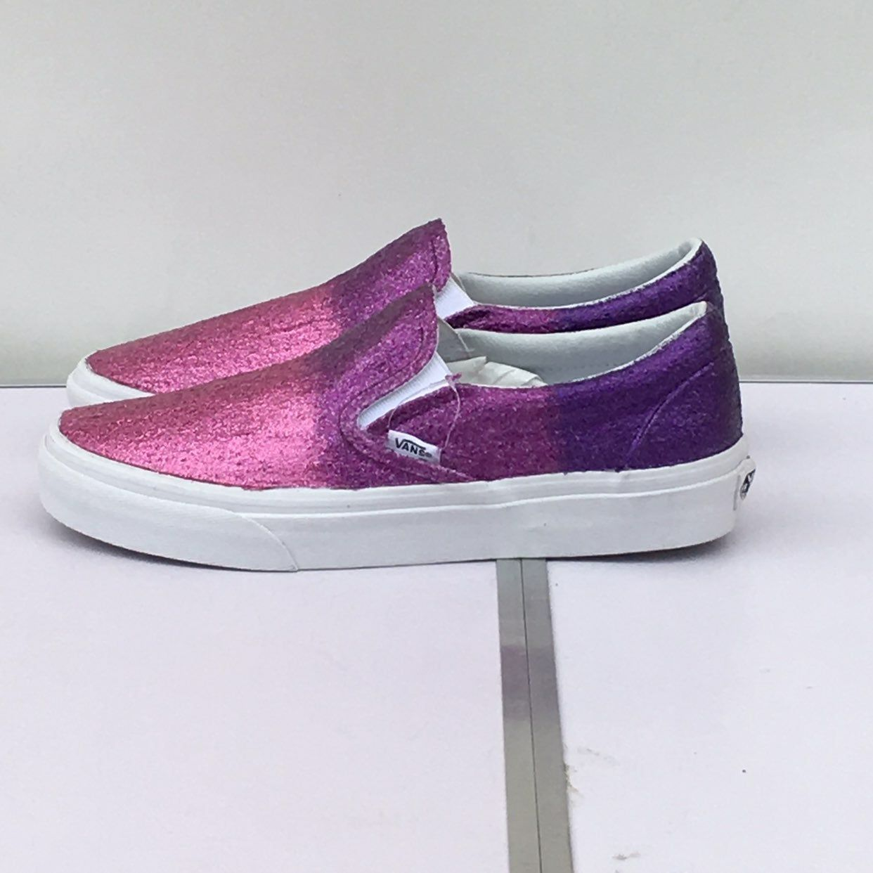 Custom Glitter Vans These shoes have