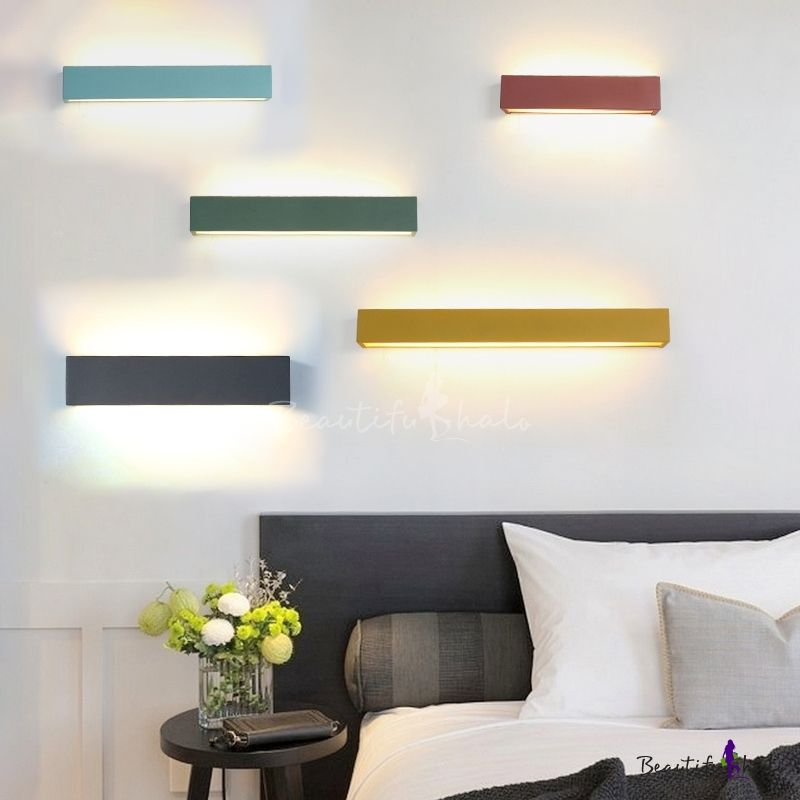 Multi Color Modern Led Linear Wall Light 14 12 Wall Lights Wall Mounted Light Wall Sconces Living Room