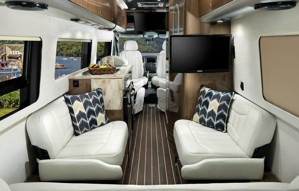 Build Your Own Touring Coach Airstream Interior Decorating