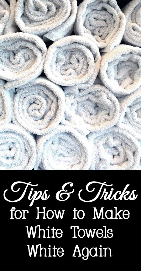Tips And Tricks For How To Make White Towels Again Clean Bleach