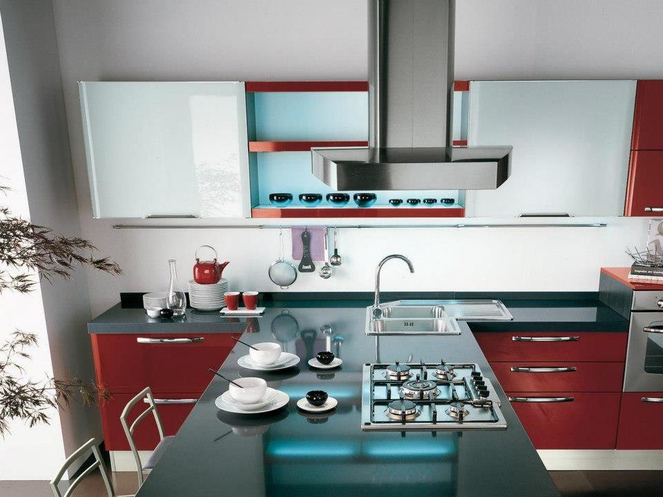 A cena con Doris di #Lube la #cucina intelligente! http://www ...