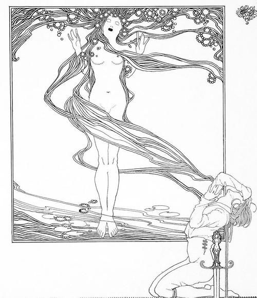 Illustration by John Austen for Shakespeare's Hamlet, 1922