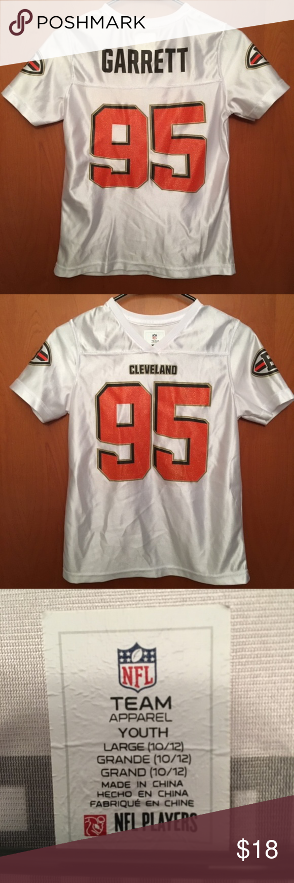 on sale 243ea 3e2e9 Myles Garrett Cleveland Browns NFL Jersey Here we go ...