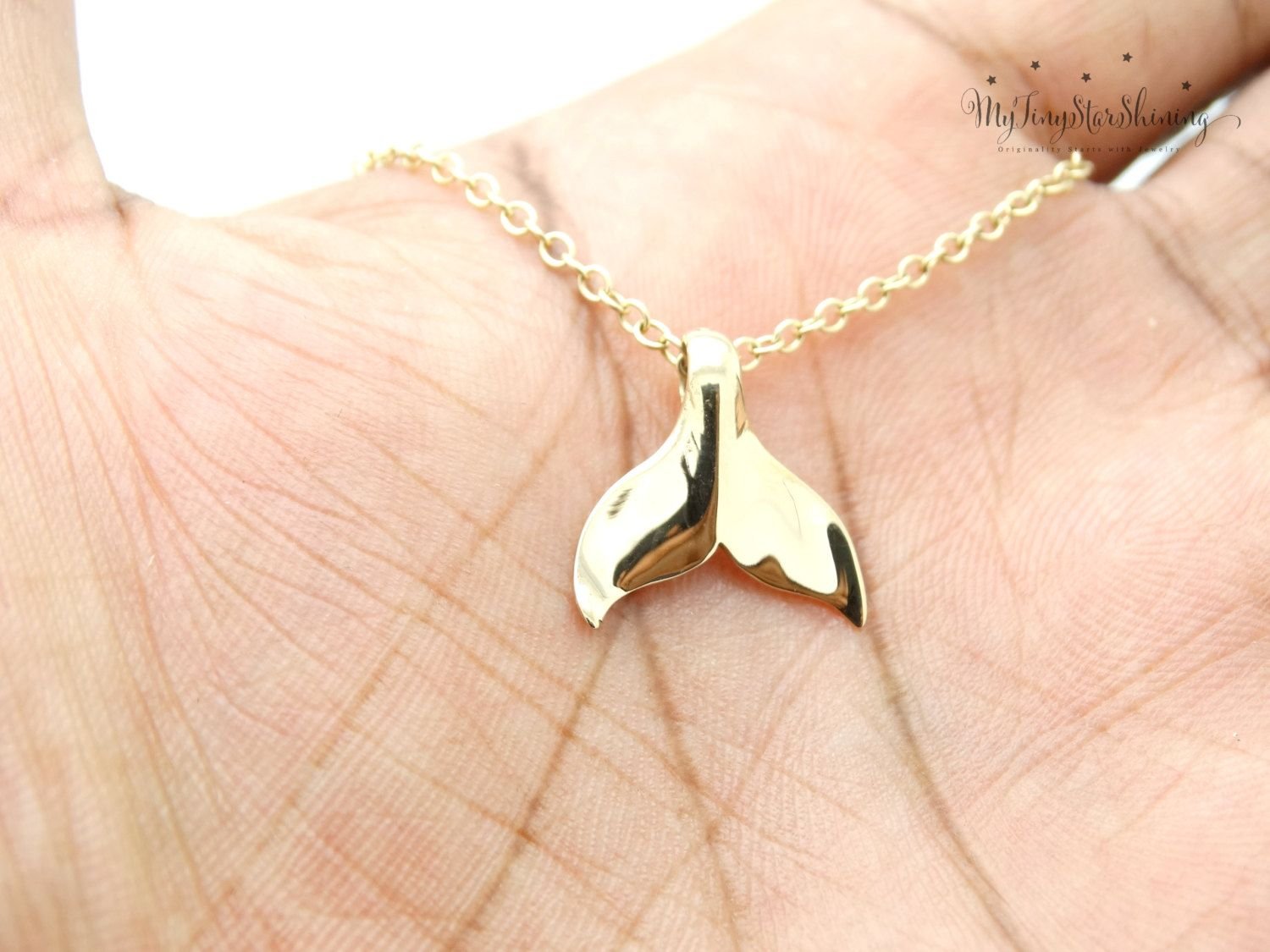 Whale tail necklace gold whale charm nautical lucky pendant mermaid whale tail necklace gold whale charm nautical lucky pendant mermaid tail necklace whales tail charm aloadofball Images