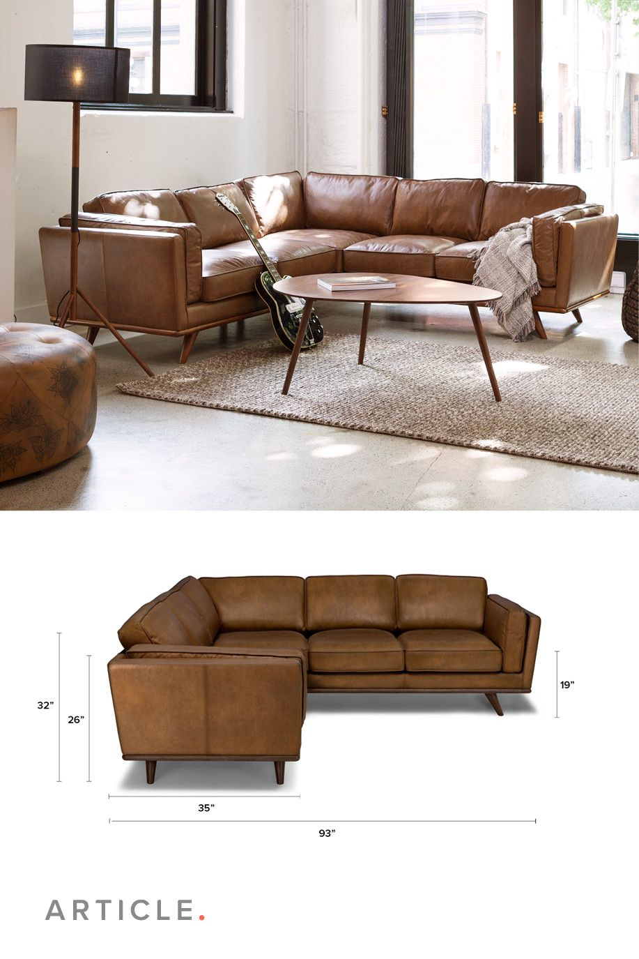 Enough Lounge Space For The Whole Family Brown Living Room Trendy Living Rooms Couches Living Room