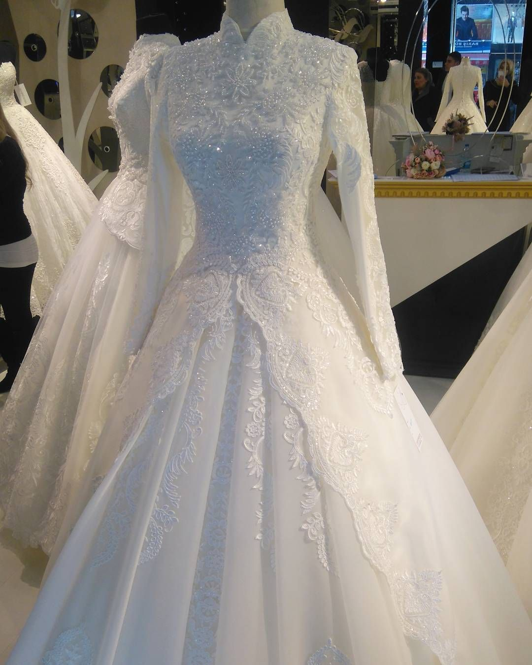Cantik Nyaaa Modest Wedding Dresses Muslim Wedding Dresses