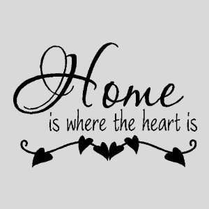 Family Quotes For Scrapbooking Home Is Where The Heart Isfamily