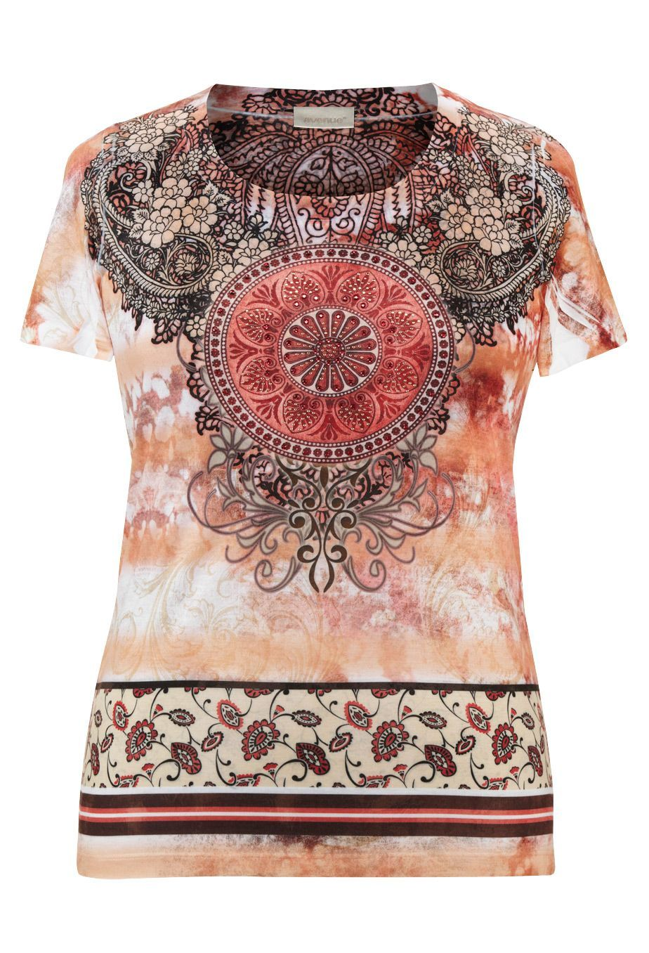 f4b0549725 Paisley Tops Plus Size