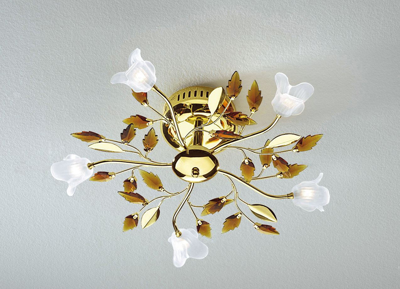 Moderne Lampen 5 : Deckenleuchte 5 flammig lampen & leuchten wohnen bader