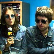 Chris Robinson of the Black Crowes and Noel Gallagher of Oasis  on the Brotherly Love Tour.