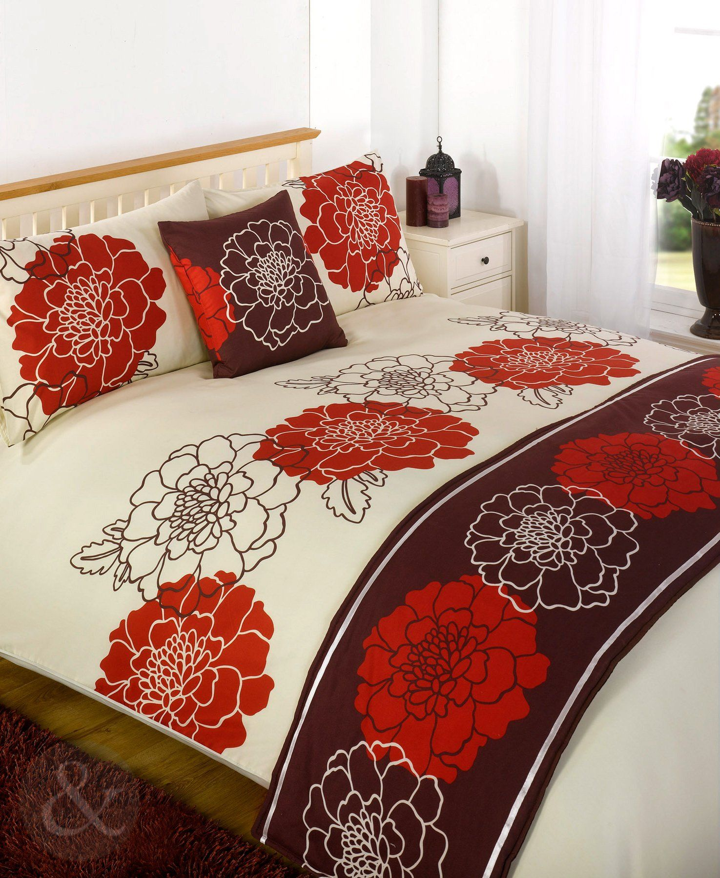 5pc Luxury BEDDING SET Quality Duvet Cover Quilt Bed Sets