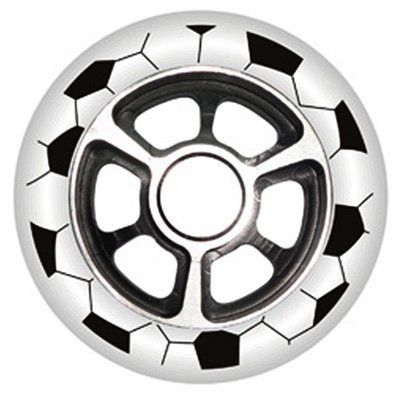 YAK FA Metal Core Wheel White/Black 100mm by Yak. $14.99. Save 40% Off!