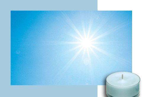 Bluer Skies Raikasta & Puhdasta Piristävän raikas ilma, jossa hivenen sitrusta. Juuri oikea tuoksu kylpyhuoneeseen.