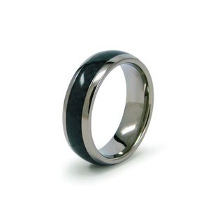 40 Ashmil Titanium Wedding Band With Black Carbon Fiber Center Inlay In Sizes 6 13 Milan Mens Wedding Rings Wedding Rings Titanium Wedding Band