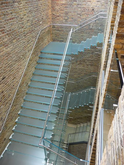Best A Spiral Glass Staircase Glass Staircase Stairs And 400 x 300