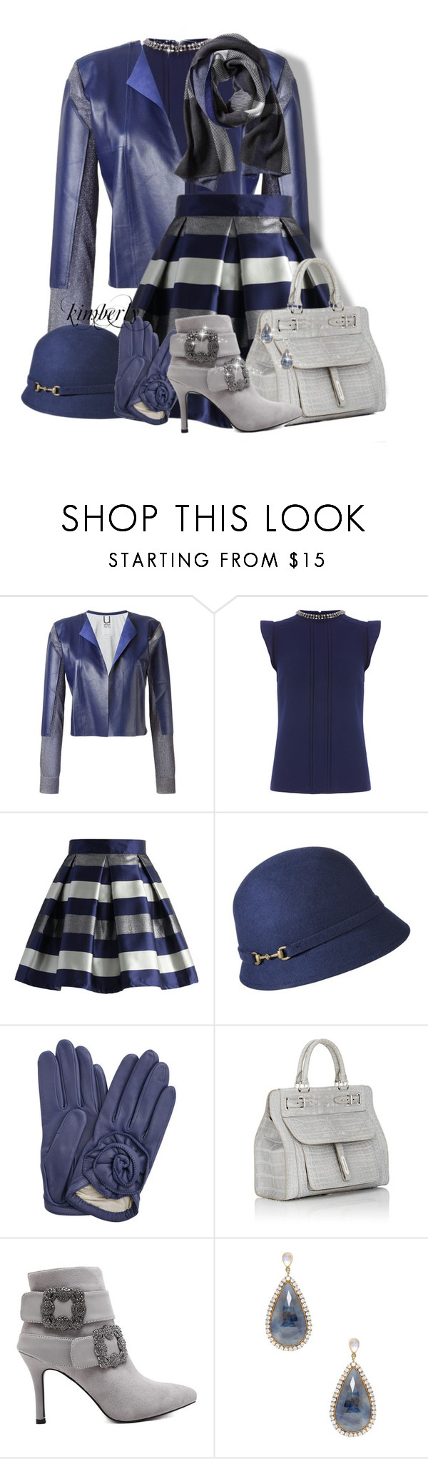 Leather Jacket by cavell on Polyvore featuring Oasis, Aviù, Chicwish, Fontana Milano 1915, Shay and Banana Republic