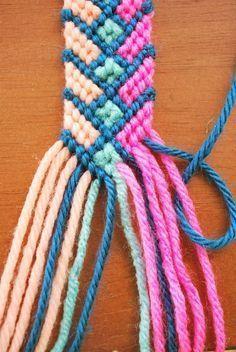 DIY: The Crazy Complicated Friendship Bracelet #friendshipbracelets