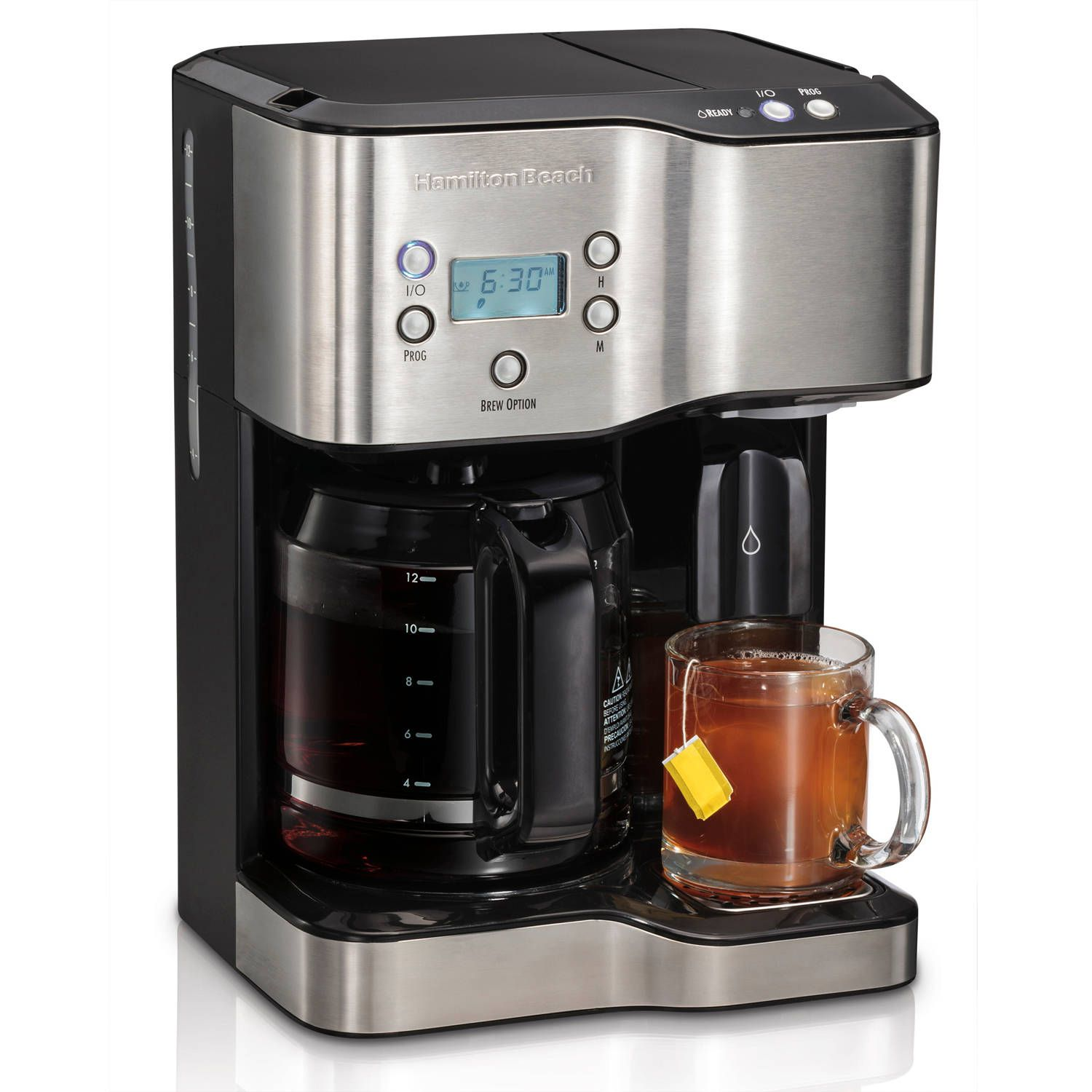 Hamilton Beach 12 Cup Coffeemaker with Hot Water