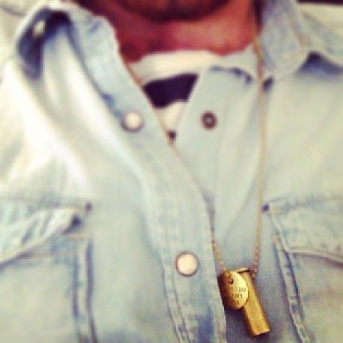 Our friend, Ethan, rocking a #fightinghunger necklace