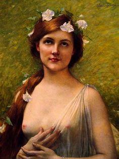 femme classique peinture - Google Search