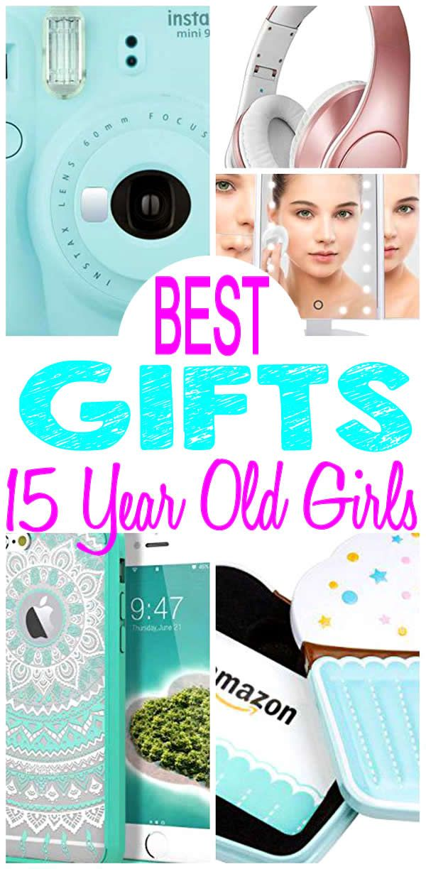 BEST Gifts 15 Year Old Girls Will LOVE Check Out The Most Popular Presents On A Gift List Coolest 15th Birthday Fifteenth