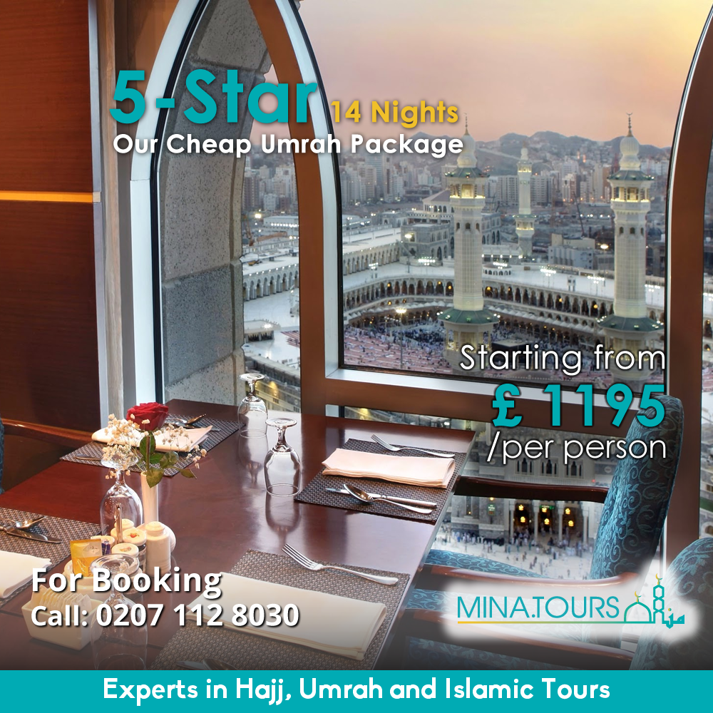 This month with most cheap Umrah package. With includes 5 ...