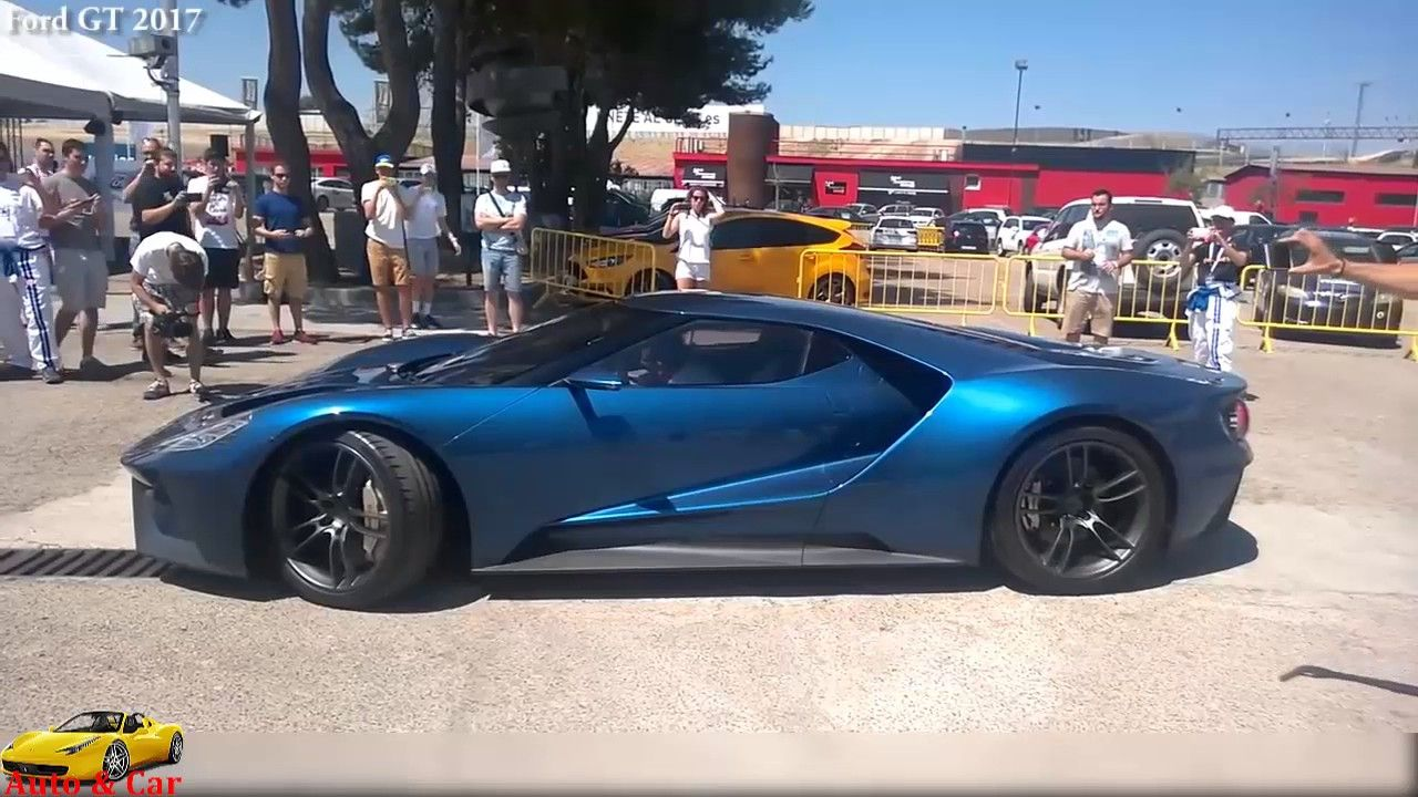 Ford Gt  Vs Ford Gt  Acceleration Start Up Vs Exhaust Sound