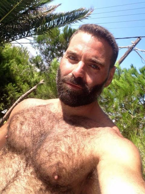 Pin by Jeff K on Nipples | Hairy men, Awesome beards ...