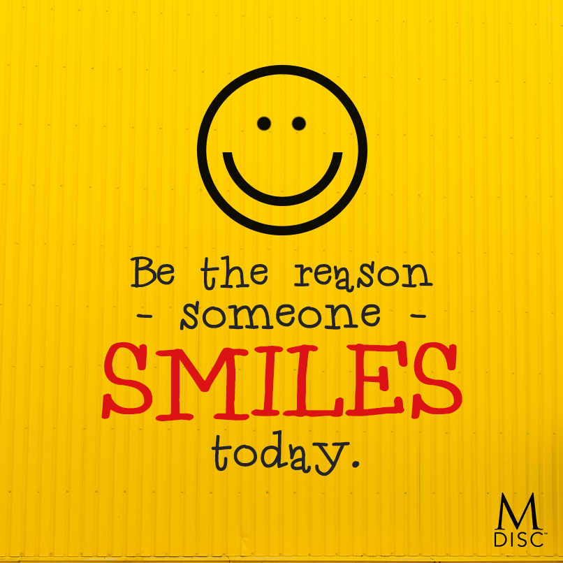 "Be the reason someone smiles today."" - Unknown #happiness #smiling ..."