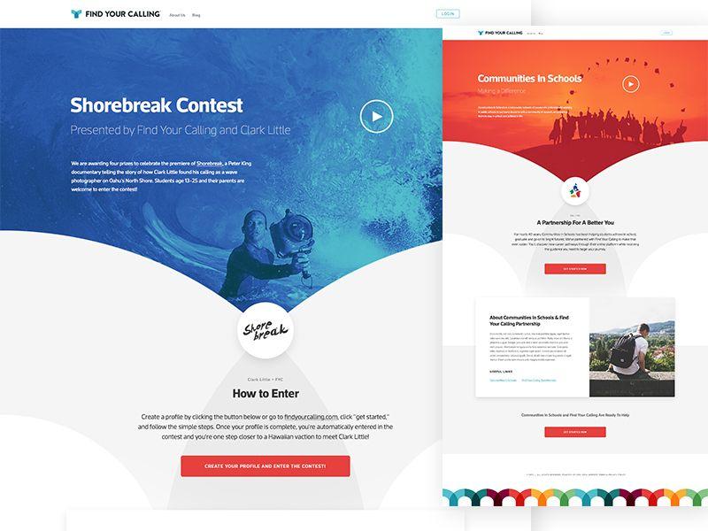 Fyc Partner Page Web Design Mobile App Design Inspiration App Design Inspiration