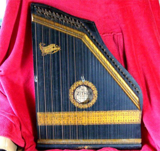 victorian 1894 columbia no 4 zither lap harp i sell antiques on etsy selling antiques harp. Black Bedroom Furniture Sets. Home Design Ideas